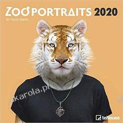 Kalendarz Zoo Portraits 2020 Square Wall Calendar