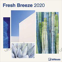 Kalendarz Fresh Breeze 2020 Square Wall Calendar
