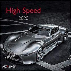Kalendarz High Speed 2020 Calendar Samochody