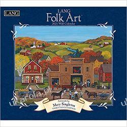 Lang Folk Art 2021 Calendar