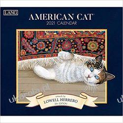 American Cat 2021 Calendar