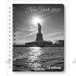 Kalendarz książkowy New York 2021 Deluxe Diary Calendar