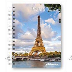 Kalendarz książkowy Paris 2021 Deluxe Diary Calendar Paryż