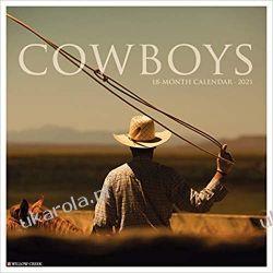 Kalendarz Kowboje Cowboys 2021 Wall Calendar
