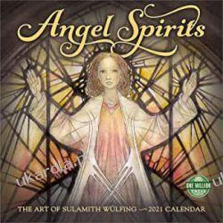 Angel Spirits 2021 Calendar anioły