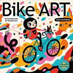 Kalendarz Bike Art 2021 Calendar rowery
