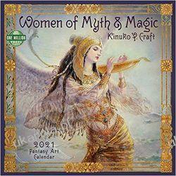 Kalendarz Women of Myth & Magic 2021 Calendar