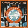 A World of Cities 2021 Square Wall Calendar miasta