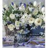 Kalendarz bukiety kwiatów Blumenträume 2021 - Foto-Kalender piękne kwiaty