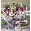 Bouquets 2021 calendar bukiety kwiatów