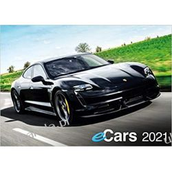 Kalendarz samochody elektryczne e-Cars Electric Car Calendar 2021