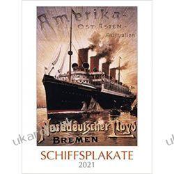 Kalendarz Statki Plakaty Ship Posters 2021 Calendar