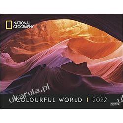 Kalendarz Colourful World Poster National Geographic 2022 Calendar kolorowy świat