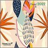 Kalendarz rośliny GreenLine Floral 2022 calendar