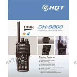 Radiotelefon analogowo-cyfrowy DMR HQT DH-8800 VHF