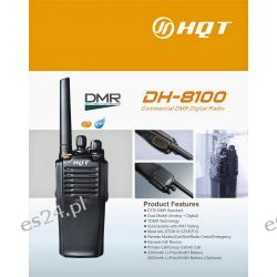 Radiotelefon analogowo-cyfrowy DMR HQT DH-8100 UHF