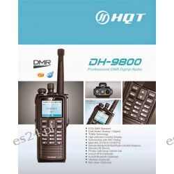 Radiotelefon analogowo-cyfrowy DMR HQT DH-9800 UHF