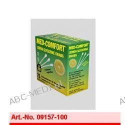 Pałeczki higieniczne 100 mm o smaku limonki - gliceryowe Cena za 750 szt.