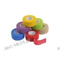 Szybkowiążący plaster JOY2PROTECT - 2,5 cm x 4,5 m, 4 kolory: niebieski, lila, beżowy i zielony