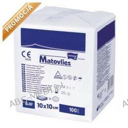 Kompresy z włókniny Matovlies niejałowe 10x10cm, 30g - 1 opak. a `100 szt. Pozostałe