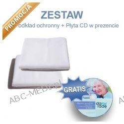 Prześcieradło - podkład nieprzemakalny 60x60cm + Podkład 90x140cm + Płyta CD gratis Pozostałe
