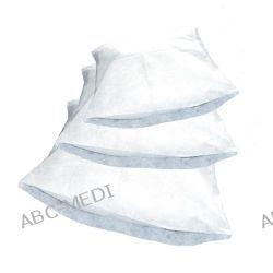 Art. nr 52531 Poszwa medyczna na kołdrę jednorazowego użytku z włókniny PP, biała, 30gsm, 195x115cm