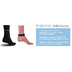 TeVeno Socken aktywne przeciw-żylakowe skarpety