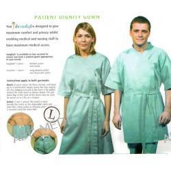 Komplet 2-częściowy odzieży do badań dla pacjenta Pozostałe