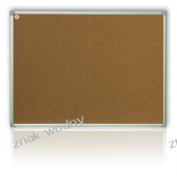 TABLICA KORKOWA 60 x 40 cm, rama aluminiowa TCA64/C Magnetyczno-suchościeralne