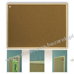 TABLICA KORKOWA 150 x 100 cm, rama drewniana MDF Magnetyczno-suchościeralne
