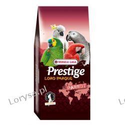 VERSELE LAGA - AFRICAN PARROT LORO PARQUE 15kg - Pokarm dla dużych papug afrykańskich (ŻAKO)