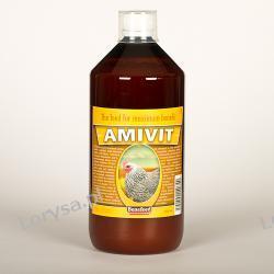 AMIVIT D 1000 ml -MULTIWITAMINA - KURY, BAŻANTY, KACZKI