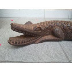 Krokodyl drewno Kraina DOGONÓW