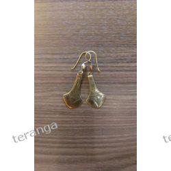 Kolczyki  wykonane z niklu Biżuteria i Zegarki