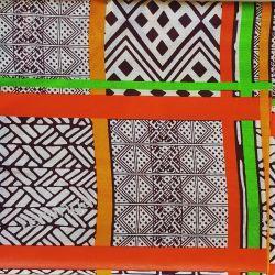 Tkanina WAX LEGOS Senegal