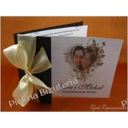 Zaproszenia ślubne ślub koperta person zdjęcie