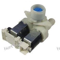 Elektrozawór pralki 2-drożny 90o na wtyczkę Whirlpool