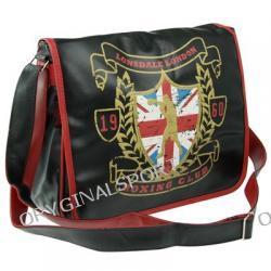 Кож/зам. Материал.  35x28x7 см. Мужская сумка Lonsdale Boxing Flap.