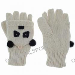 Описание: вязаная шапка своими руками панда.