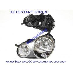 LAMPA REFLEKTOR PRZOD VW POLO 9N 01-05 L + P KOMPL