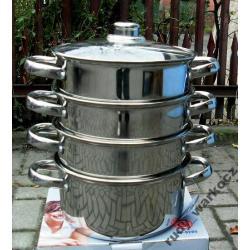 Garnek do gotowania na parze 5 el. HOFFNER 3.1 L