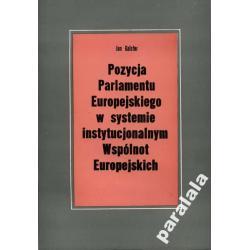 PARLAMENT EUROPEJSKI Struktura Model Parlamentu UE