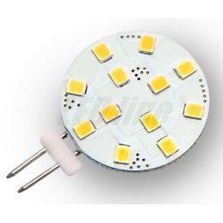 LED line Żarówka LED G4 12 SMD 2835 2,2W (22W) 200lm 12V barwa zimna CCD 1956