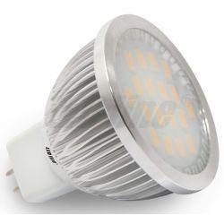 LED line Żarówka LED MR16 18 SMD 5630 5W (50W) 480lm 12V barwa ciepła 2533