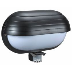 Orno Oprawa lampa z czujnikiem ruchu PIR 180°, 1x60W, E27, IP44 OR-OP-304/B