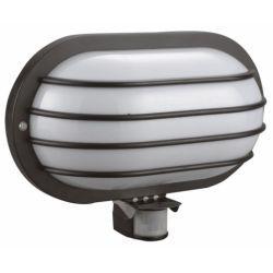 Orno Oprawa lampa z czujnikiem ruchu PIR 180°, 1x60W, E27, IP44 OR-OP-307/B