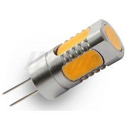 LED line Żarówka LED G4 COB 5W (50W) 400lm 12V barwa ciepła 4544