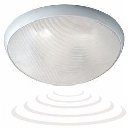 Orno Oprawa lampa plafon plafoniera z mikrofalowym czujnikiem ruchu OR-PL-344WE27PSM