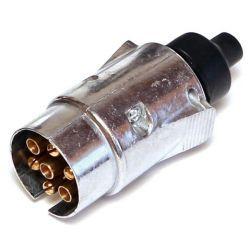 Orno Wtyczka przyczepy samochodowej aluminiowa CB-80206