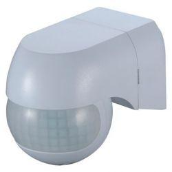 Orno Czujnik ruchu i zmierzchu mini LED 180 stopni IP44 biały OR-CR-242